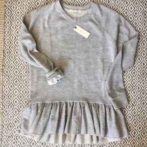 Pure + Good for Anthropologie Terry Sweatshirt